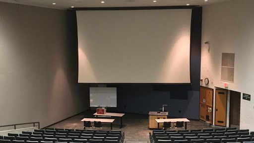 photo of large lecture space in Willey Hall